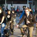 bicycle, riding bicycle, Critical Mass