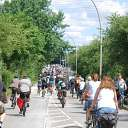 bicycle, riding bicycle, Fahrradsternfahrt